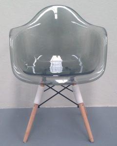 Adam Rocket Dining Chair – Clear