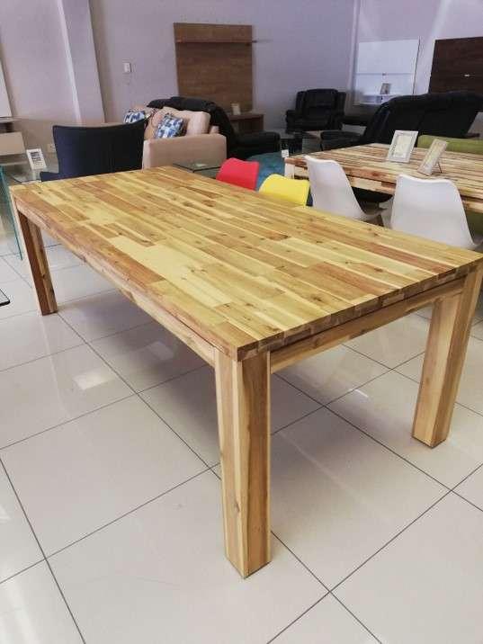 Acacia Dining Table Contemporary Living